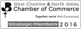 West Cheshire & North Wales Chamber of Commerce &ndash - Strategic Members 2016