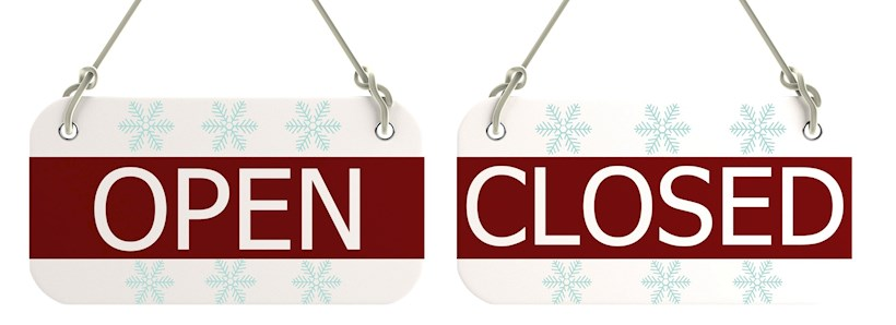 Image for Christmas closure