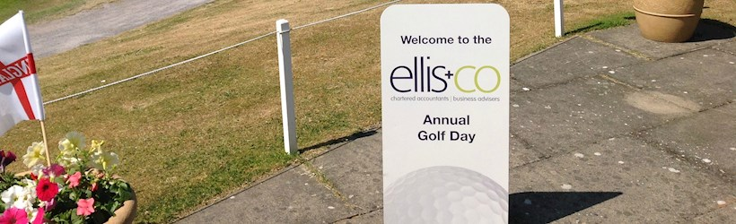Image for Ellis & Co get their charity golf day off to a tee!
