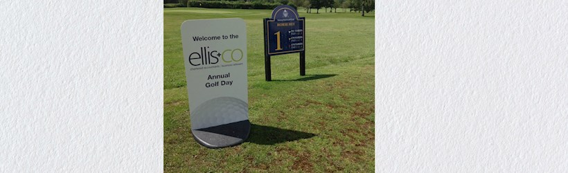 Image for Ellis & Co charity golf day off to a tee