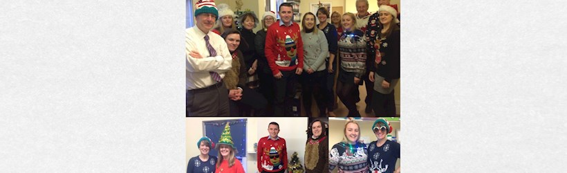 Image for Accountants pull on their jolly jumpers!