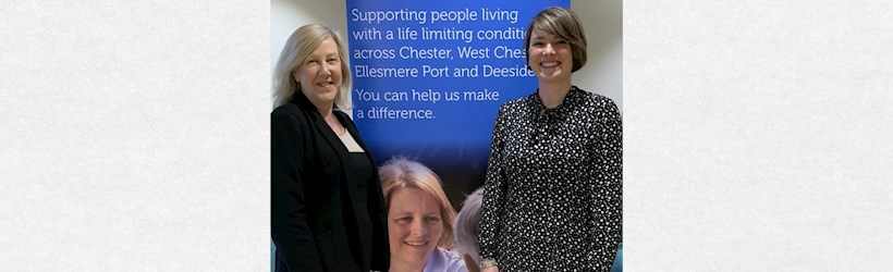 Image for Chester accountants pledge its support to local hospice