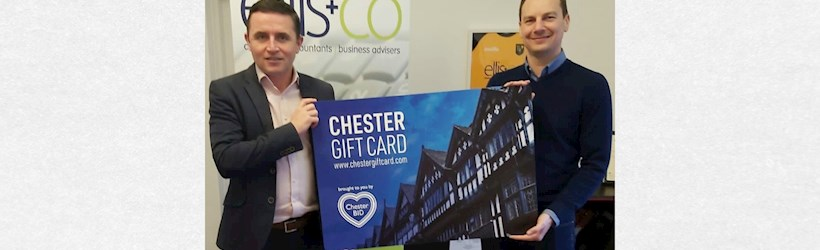 Image for Chester accountants support local businesses this Christmas
