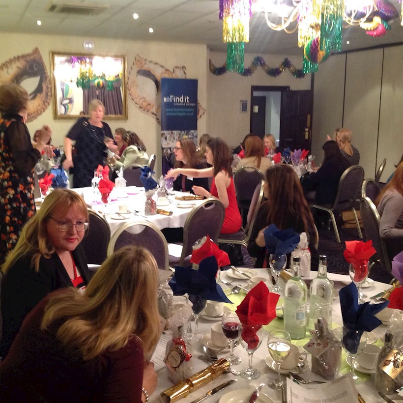 Image for Christmas lunch ends a busy year for women's network