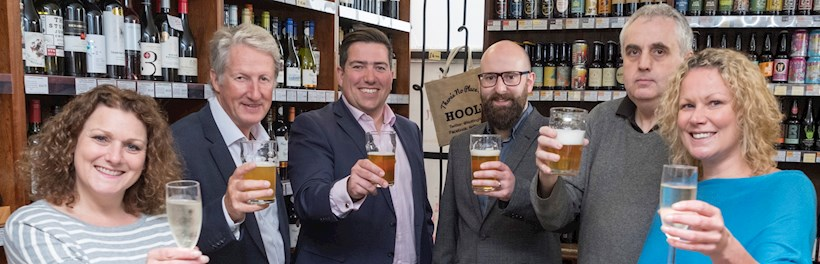 Image for Ellis & Co proud sponsor of Hoole Beer Festival