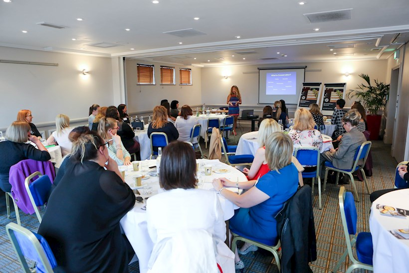Image for Marine biologist gives inspirational talk to Chester business women